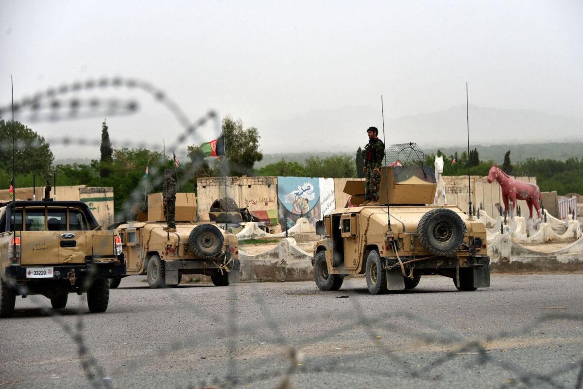 bidens withdrawal plan sets the clock ticking in afghanistan afghanistan kandahar troops vehicle gettyimages 1232101232