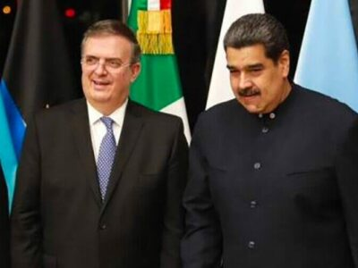 mexico criticized at home and abroad for welcoming cuban venezuelan leaders ebrard maduro